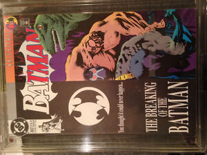 Batman #497 Signed By BOB Kane limited to 1,993 with COA
