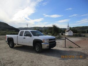 2008 Chevrolet Silverado 2500 HD Shortbox Pickup Truck.