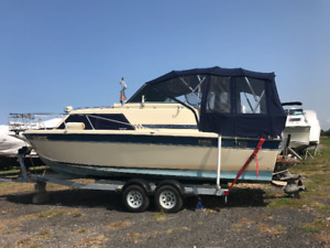 Boat for sale with the trailer
