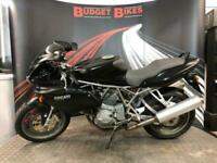 2001 Y DUCATI 750 748CC 750 S HALF FAIRED
