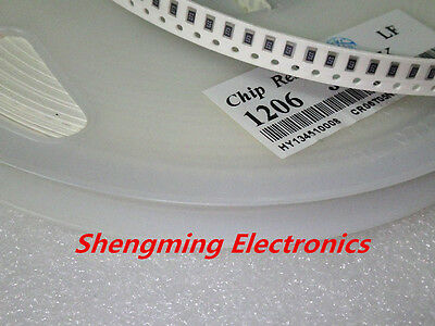 100pcs 1206 Smd Resistor 100 Ohm 5 Rohs 100r