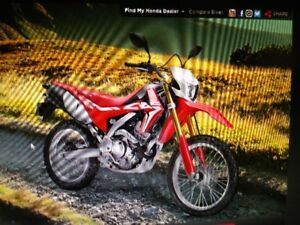 BACK TO SCHOOL SPECIAL $500 OFF CRF250LH