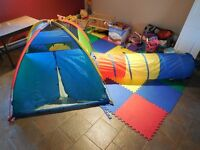 Pacific Play Tent & Find Me Tunnel