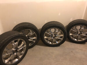 "18"" rims fit Ford Escape with tire sensors"