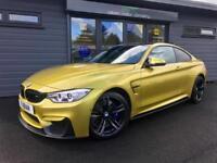 2014 BMW M4 3.0 425bhp Austin Yellow DCT **Performance Pack - 360 Cam - Carbon**