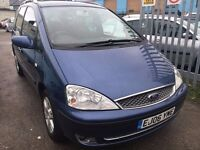 FORD GALAXY DIESEL MANUAL 1.9. 2006 DRIVE NICE 7 SEATER