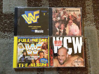 Lot of Wrestling CD's ~the wrestlers theme songs