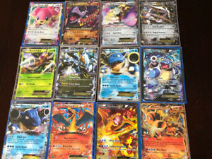 VALUABLE POKEMON CARDS, 80 EX LEFT, 3 BREAK, 4 LEVEL X
