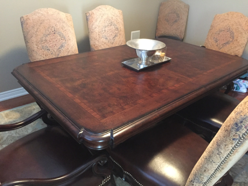 Thomasville Hills Of Tuscany Dining Room Set Dining