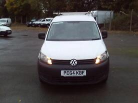 Volkswagen Caddy 1.6TDI 102PS VAN DIESEL MANUAL WHITE (2014)