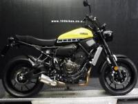 16/16 YAMAHA XSR 700 ABS ANNIVERSARY COLOURS 833 MILES