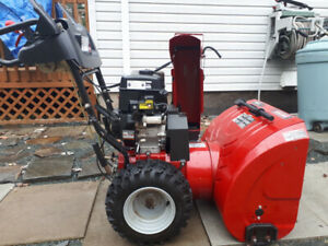 27 inch craftsman snowblower. Working condition