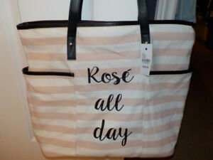 Rose all day beach bags