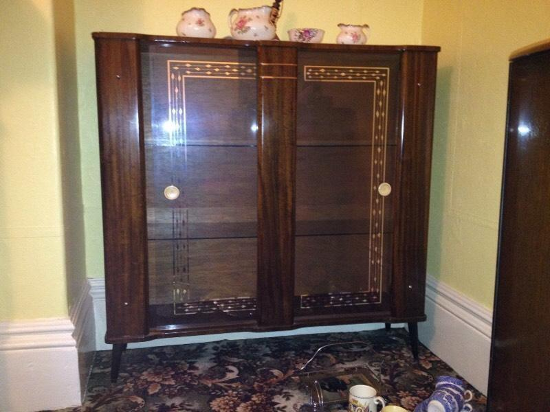 Old fashioned china cabinet in newcastle tyne and wear for Chinese furniture newcastle