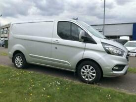2020 Ford Transit Custom 300 L1 H1 Limited Van 2.0 130ps PANEL VAN Diesel Manual