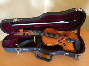 Violon 1/4 Samuel Eastman - Handcrafted - Ensemble complet
