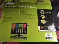 "19"" technika portable TV/DVD BNIB"
