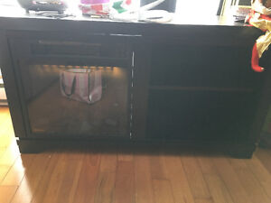Fire Place + Tv Stand