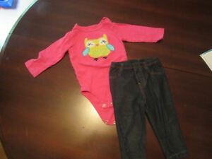 Girls Fall/Winter Clothing Size 9 Months Kitchener / Waterloo Kitchener Area image 1