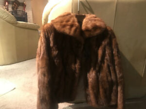 Authentic vintage fur coat