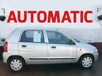 SMALL AUTOMATIC SUZUKI ALTO 1.1 GL 5 DOOR 2004 12 MONTH MOT