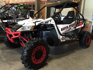 2015  arctic cat wildcat  x ltd  brand new!