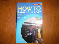 How to Paint Your Boat Varnishing Antifouling by Nigel Clegg