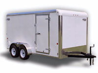Long Distance Moving - Driver with 7x14 Enclosed Trailer