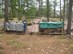 Firewood Drying and Storage Racks -set of 3 - PRICE DROP