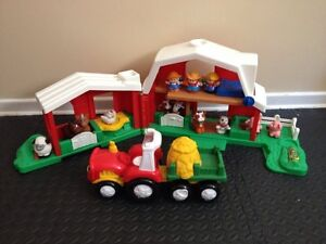 Fisher Price Little People Farm & Tractor