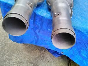 APRILIA RSV1000R 2009 OEM STOCK EXHAUST CANISTERS WITH NO KM Windsor Region Ontario image 9