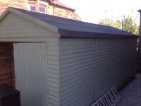 Large wooden shed / garage