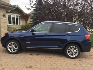 2011 BMW X3 Xdrive 28i two years of factory warranty included
