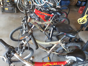Boys bicycles for sale $10 each