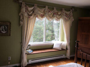 Beautiful Lined Custom Curtains—Hardware Included