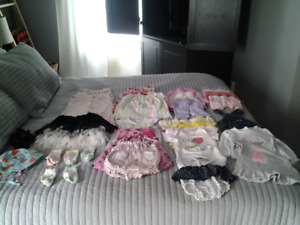 Lot vêtements bébé fille