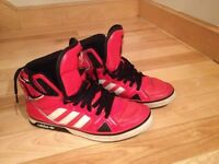 Soulier adidas space diver rouge 8.5