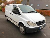 Mercedes-Benz Vito 109 CDI. ROCK N ROLL BED. FULLY INSULATED. HOT RUNNING WATER.