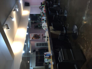 Hair Stylist/ Barber / Colourist space for Rent/  Coiffeur