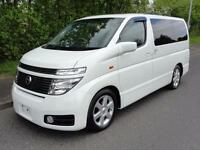 2002 Nissan Elgrand HIGHWAYSTAR 4WD SUNROOFS FRESH IMPORT 5dr