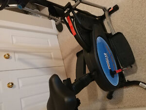 Elliptical and Weight bench with 80 pounds $250 combo Kitchener / Waterloo Kitchener Area image 3