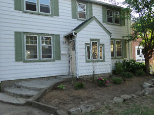 Spacious 4 bdrm home for rent on bus route. Available Aug 1st