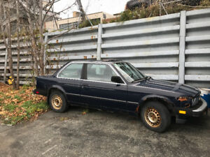 1986 BMW - Needs TLC