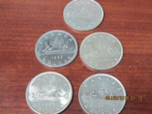 Assorted Silver dollars 1960-1967..some 1950,s.