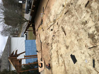 Deck removal - fence removal - shed disposal - pool fill ins etc