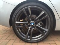 "BMW 20"" inch Alloy wheel (staggered) with tyres"