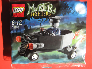 Lego Halloween Monster Fighters #30200 Coffin Car Set New Sealed