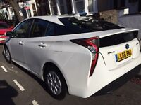 UBER PCO CAR HIRE 65 PLATE AND 66 PLATE TOYOTA HYBRID PRIUS T3 AUTOMATIC 1.8