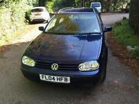 2004 Volkswagen Golf 1.6 SE 5dr