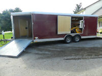 REDUCED!!!! 2008 Wells Cargo Utility Trailer 28ft.
